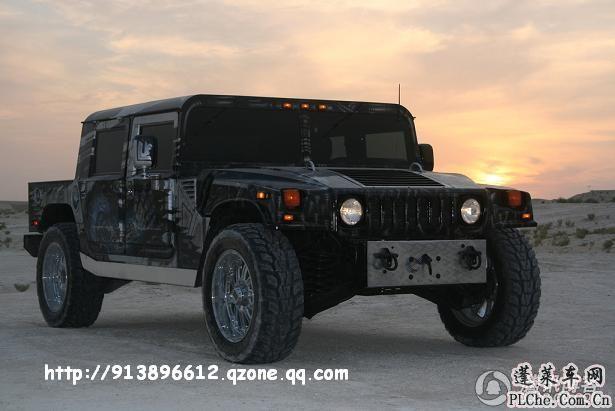 超强悍国外改装悍马h1